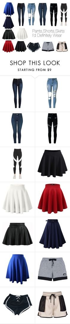 """""""Pants,Shorts,Skirts I'd Definitely Wear"""" by kyrasmith-4 on Polyvore featuring J Brand, Givenchy, NIKE, WithChic, adidas, My Mum Made It, casual, shorts, stylish and skirts"""