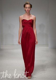 Amsale Bridesmaids G686H Bridesmaid Dress - The Knot