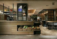 Restaurant all day buffet area