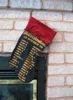 August Burns Red Christmas Stocking 2 Heavy by DarkStormClothing, $30.00