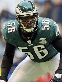 Akeem Jordan ('07) signed as a free agent with the Philadelphia Eagles in 2007 following a stellar career at JMU. He was on JMU's 2004 national championship squad and was named CAA Defensive Player of the Year in 2006. In 68 career NFL games, he has 218 total tackles with one sack and two interceptions.