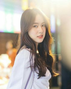 Beautiful Asian Girls, Gorgeous Women, Korean Long Hair, Cute Photography, Vogue Covers, Cute Disney Wallpaper, Ulzzang Girl, Asian Beauty, Hair Beauty