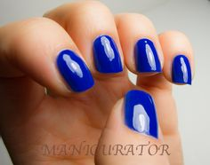 manicurator: Rescue Beauty Lounge IKB: 2012 swatch and review