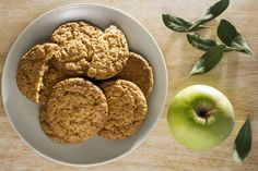 Μπισκότα μήλου χωρίς ζάχαρη - The Mamagers.gr