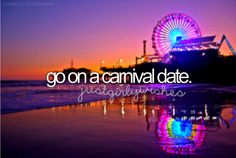OMG a carnival date! What a perfect date! I think.....