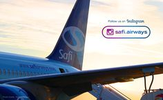 Follow us on Instagram @safiairways and stay updated with our latest news  #instagram