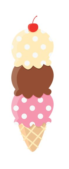Ice Cream Sundae Clipart | Printables and Fonts | Pinterest ...