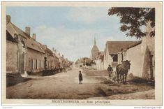 CPSM MONTBOISSIER (Eure Et Loir) - Rue Principale