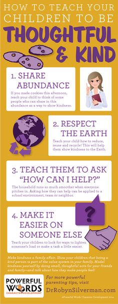 How to teach your children to be thoughtful and #kind #parenting #drrobyn