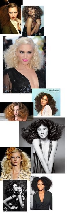 Studio 54 Hair. Essentially night club hair for a sophisticated yet party ready night. SK