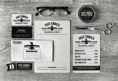 Barber shop identity