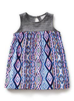 Baby Clothes Dresses | Bg Splice Aztec Dress | Seed Heritage