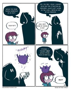 This is from one of my favorite web comic, Mary Death.