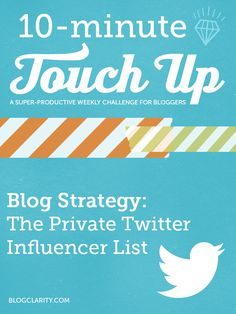 Touch Up: Make someone's day (and make yourself known). Twitter Help, Twitter Tips, Comparative Advantage, How To Start A Blog, How To Make, Blogging, Influencer Marketing, Pinterest Marketing, Blog Tips
