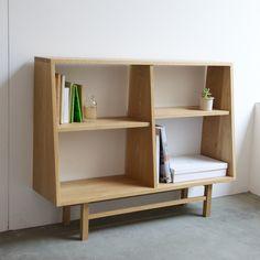 greeniche furniture BookCaseWide