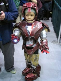 Ironman Cosplay Kid