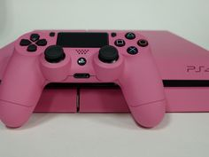 When your favorite color is pink, go all out! #custom #gaming #PS4 #dualshock4 #FlirtPink