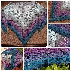 Ravelry: Daisy Chain Shawl pattern by Kirsten Bishop