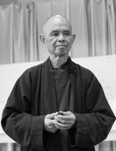 """""""Enlightenment is always there. Small enlightenment will bring great enlightenment. If you breathe in and are aware that you are alive—that you can touch the miracle of being alive—then that is a kind of enlightenment.""""   -Thich Nhat Hanh"""