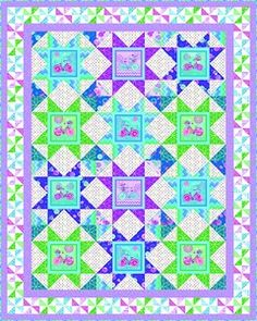 Shop   Category: Current   Product: Enjoy the Ride Quilt #1