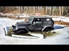 How NOT To Drive A Jeep - #FAIL