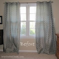 DIY On the Cheap: Easy No-Sew Hem for Curtains