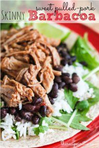 If youre a fan of Cafe Rios famous pulled pork, this Slow Cooker Copycat Pulled Pork Barbacoa is a great copycat version of the beloved restaurant classic. This slow cooker pulled pork recipe is a slightly lightened up version.