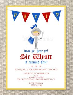 Invitation / Party Theme
