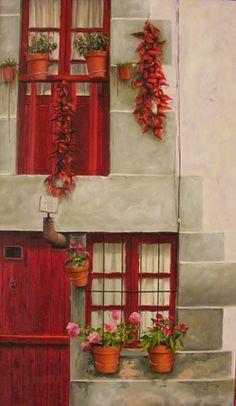 José Enrique Gonzalez.  La casa roja