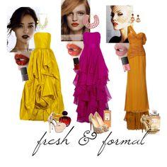 fresh & formal, created by whenregardingruffles on Polyvore