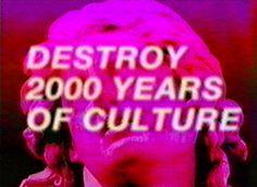 Please Destroy 2000 Years of Culture : Vaporglow