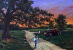T Ellis Fine Art  - Sweet Walk Home-Original, $9,850.00 (http://www.tellisfineart.com/sweet-walk-home-original/)