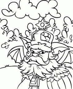 Neopets Coloring Pages 1