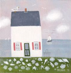 She Sells Seashells: Her work is so great. Check it out for beach house or country home!