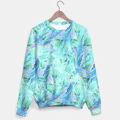 Gentle Flowers pattern Sweater  by ESZAdesign™ Patterns & Art Online GiftShop