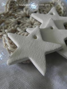 """<3 Ceramic tags © Marley 2012 """"Stars are fast becoming a favorite of mine. """" Always with Love Uniquely RA"""