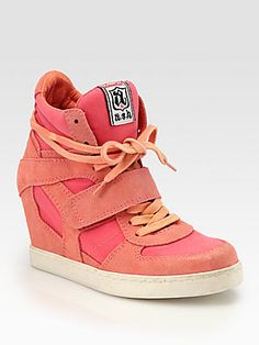 0f785335324 Ash Cool Suede Wedge Sneakers love to give to my daughter
