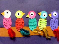 Birds: Line, Shape, Color, and Texture