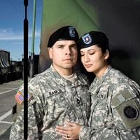finding love in the military