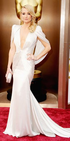 Oscars 2014 Red Carpet Arrivals - Kate Hudson from #InStyle