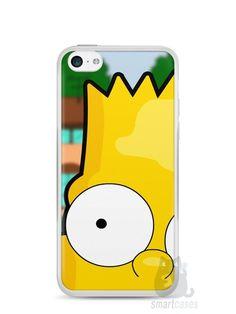 Capa Iphone 5C Bart Simpson Face - SmartCases - Acessórios para celulares e tablets :)