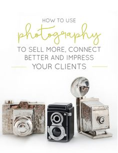 Learn how photography is your missing ingredient on connecting with clients and showcasing your work.     Think Creative Collective