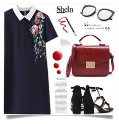 """Shein #1"" by samra-bv ❤ liked on Polyvore featuring Topshop and Dollup Beauty"