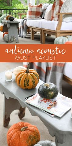 Autumn Acoustic Music Playlist - Collection of Fall-Inspired Songs