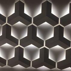 Garage Lighting, Interior Lighting, Home Lighting, Lighting Design, Indirect Lighting, Strip Lighting, Light Architecture, Architecture Details, Wall Patterns