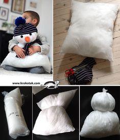 GÉNIAL! Comment faire une peluche bonhomme de neige à partir d'un... - Bricolages - Des bricolages géniaux à réaliser avec vos enfants - Trucs et Bricolages - Fallait y penser !