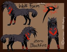 blackfire the wolf | Old) Zero Blackfire's Wolf Form by xKoday on DeviantArt