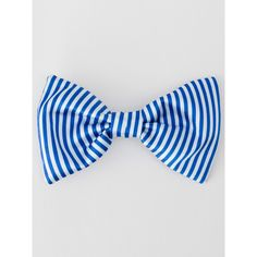 Satin Bow Hair Clip ($19) ❤ liked on Polyvore