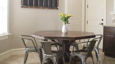 These chairs are awesome! 13 Seriously Doable Ways to DIY a Kitchen Table