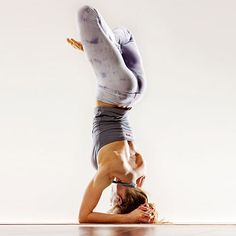 I have such lofty goals.... :)  I've got headstand, now to work on headstand with lotus....